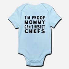 Proof Mommy Cant Resist Chefs Body Suit