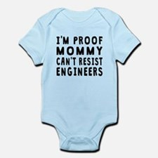 Proof Mommy Cant Resist Engineers Body Suit