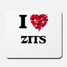 I love Zits Mousepad