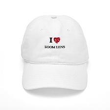 I love Zoom Lens Baseball Cap