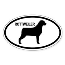 Cute Rotties Decal