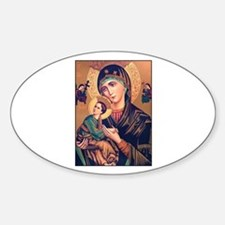 Virgin Mary - Our Lady of Per Oval Decal