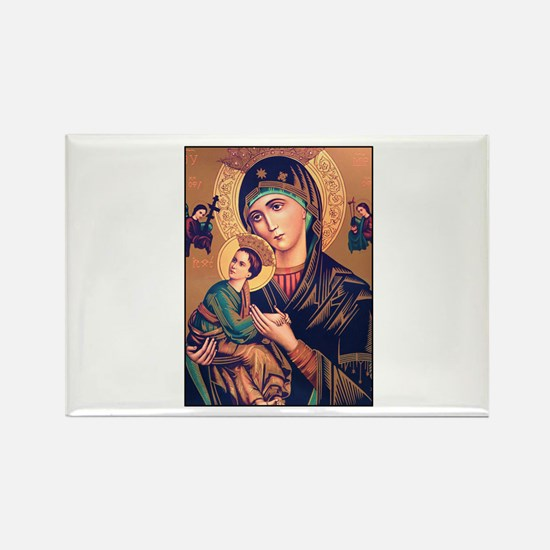 Virgin Mary - Our Lady of Per Rectangle Magnet