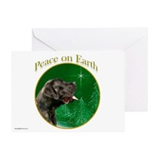 Peace on Earth brindle Greeting Card