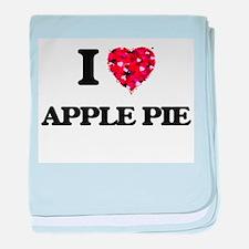 I love Apple Pie baby blanket