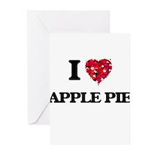 I love Apple Pie Greeting Cards