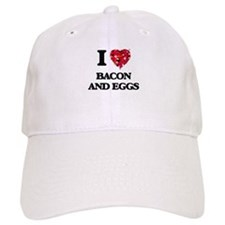 I love Bacon And Eggs Baseball Baseball Cap