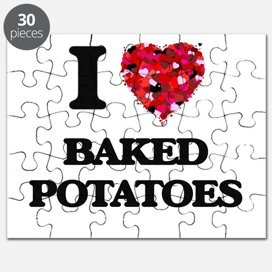 I love Baked Potatoes Puzzle