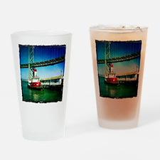 SF Fire Boat Drinking Glass
