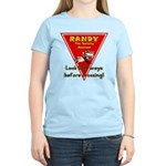 Randy Raccoon Women's Light T-Shirt