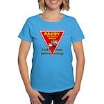 Randy Raccoon Women's Dark T-Shirt