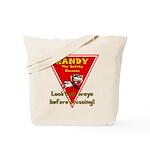 Randy Raccoon Tote Bag