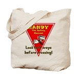 Randy Raccoon Tote Bag