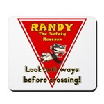 Randy Raccoon Mousepad