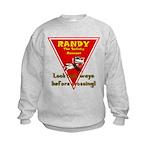 Randy Raccoon Kids Sweatshirt