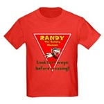Randy Raccoon Kids Dark T-Shirt