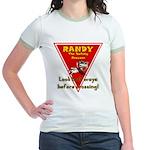 Randy Raccoon Jr. Ringer T-Shirt