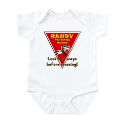 Randy Raccoon Infant Bodysuit