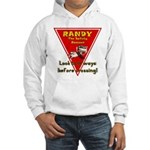 Randy Raccoon Hooded Sweatshirt
