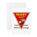 Randy Raccoon Greeting Cards (Pk of 20)