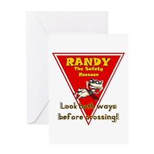 Randy Raccoon Greeting Card