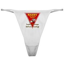Randy Raccoon Classic Thong