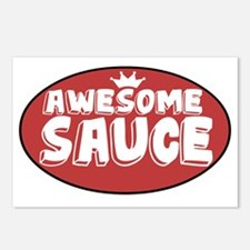 Awesome Sauce Postcards (Package of 8)
