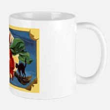 Halloween Flying Witch Mug
