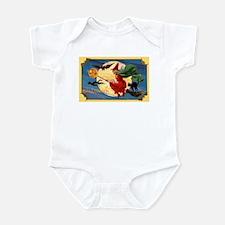 Halloween Flying Witch Infant Bodysuit