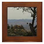 Hualapai Mountain View Framed Tile