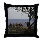 Hualapai Mountain View Throw Pillow