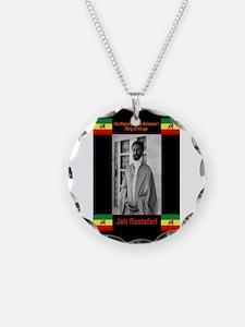 Haile-Selassie-Jah_Rastafari Necklace