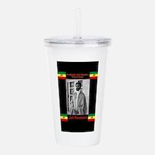 Haile-Selassie-Jah_Ras Acrylic Double-wall Tumbler