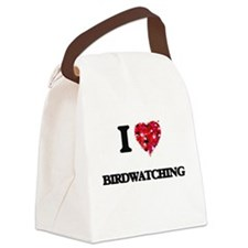 I love Birdwatching Canvas Lunch Bag