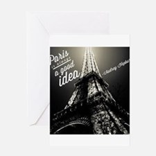 Audrey Hepburn Paris Greeting Cards