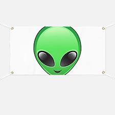 alien emoji Banner