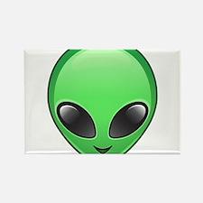 alien emoji Magnets