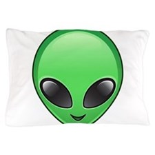alien emoji Pillow Case