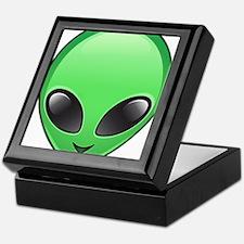 alien emoji Keepsake Box