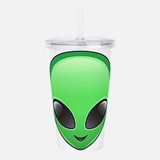 alien emoji Acrylic Double-wall Tumbler
