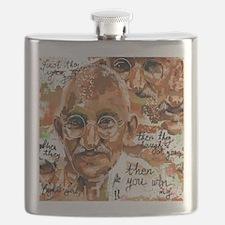 Gandhi wins Flask