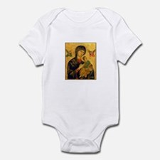 Blessed Mother of Perpetual H Infant Bodysuit