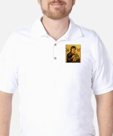 Blessed Mother of Perpetual H Golf Shirt