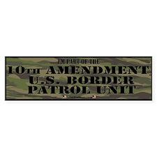 10thamendpatrol Bumper Bumper Sticker