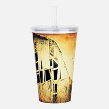 rustic country old bar Acrylic Double-wall Tumbler
