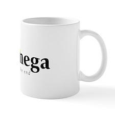 Alpha and Omega Small Mug