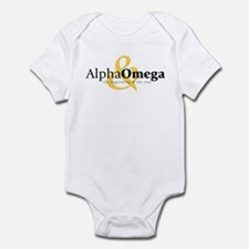 Alpha and Omega Infant Bodysuit
