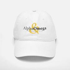 Alpha and Omega Baseball Baseball Cap