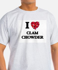 I love Clam Chowder T-Shirt