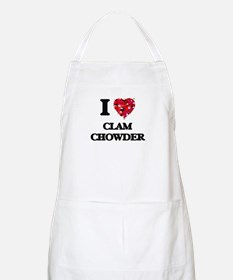 I love Clam Chowder Apron